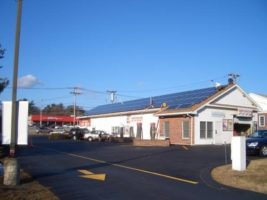 BlueSel Commercial Solar Car Wash installation