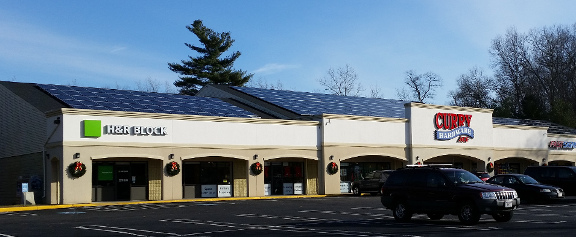 BlueSel Commercial Solar industrial customer Curry Hardware Massachuestts