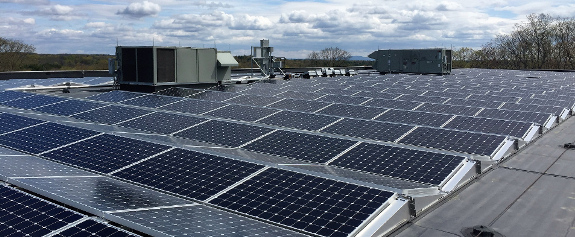 BlueSel Commercial Solar non-profit customer Eagle Hill School in Hardwick Massachusetts photo A