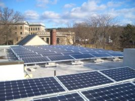 BlueSel Commercial Solar customer Winchester Unitarian Massachusetts