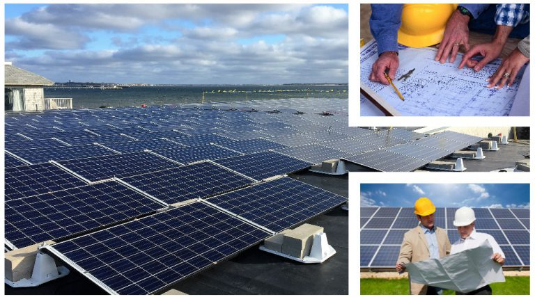 BlueSel Commercial Solar link to Solar Engineering, Procurement, and Construction services