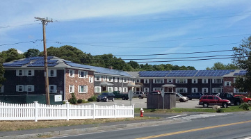 BlueSel Commercial Solar customer Harborside Arms Dennis Massachusetts