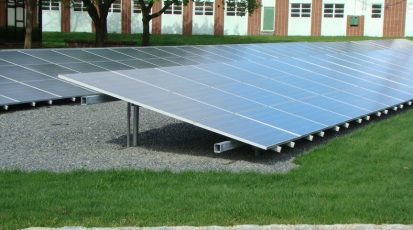 Ground Mounted Solar example