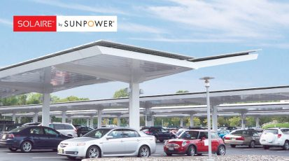 Solaire by Sunpower Solar Canopy Systems