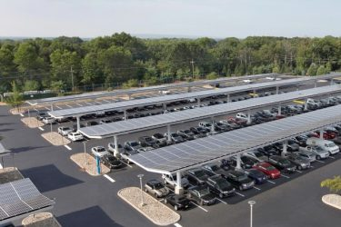 Solaire by Sunpower Solar Canopies for Parking & Unique Solar Solutions | BlueSel Commercial Solar